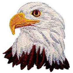 Oklahoma Embroidery Embroidery Design Eagle 351 Inches H