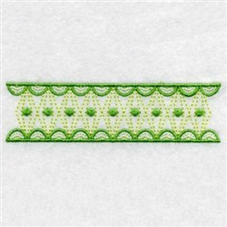 Quilting Border Embroidery Designs : Premium Embroidery Embroidery Design: Quilt Border 0.86 inches Hx3.05 inches W