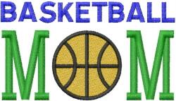 BASKETBALL MOM 3 embroidery design