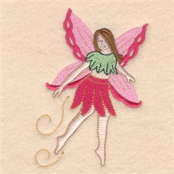 Flying Fairy embroidery design
