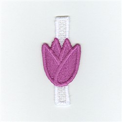 Easter  Egg Tulip embroidery design