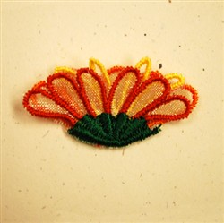 3D Flower embroidery design