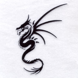 Asian Dragon #2 embroidery design