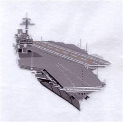Aircraft Carrier embroidery design