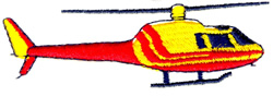 Helicopter 2 embroidery design