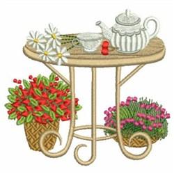 Summer Garden embroidery design