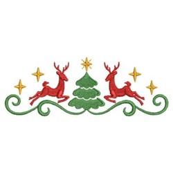Christmas Border embroidery design