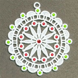 FSL Crystal Decoration embroidery design