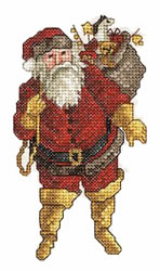 Big Booted Santa embroidery design