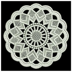 FSL Round Doily embroidery design