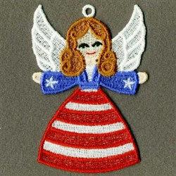 FSL American Angel embroidery design