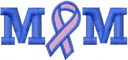 Breast Cancer Awareness embroidery design