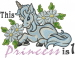 Princess Is 1 embroidery design