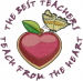 The Best Teachers embroidery design