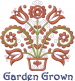 Garden Grown embroidery design