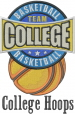 College Basketball embroidery design
