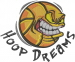 Hoop Dreams embroidery design