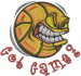 Basketball Game embroidery design