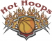 Hot Hoops embroidery design