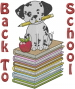 Back To School embroidery design