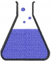 Chemistry Lab Beaker embroidery design