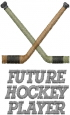 FUTURE HOCKEY PLAYER embroidery design