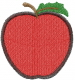 Apple 1 embroidery design
