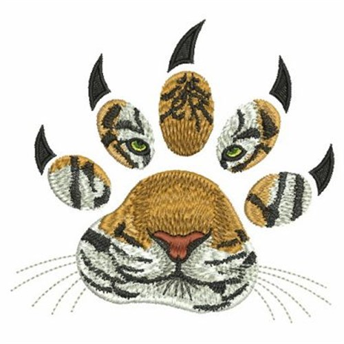 real tiger paw tattoo. Black Bedroom Furniture Sets. Home Design Ideas
