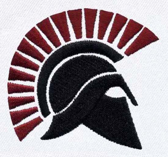 Spartan Helmet Transparent Spartan Helmet Embroidery