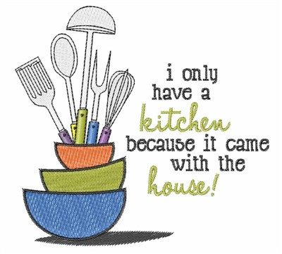 Kitchen Embroidery Designs