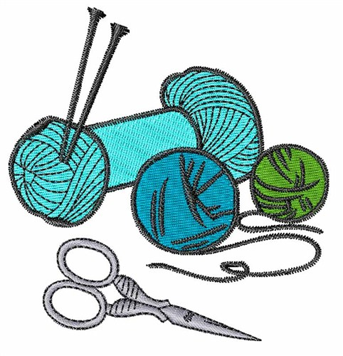 Concord collections embroidery design knitting needles
