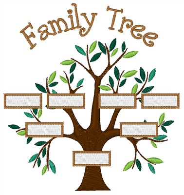 Simple Family Tree Designs Concord Collections Embroidery Design