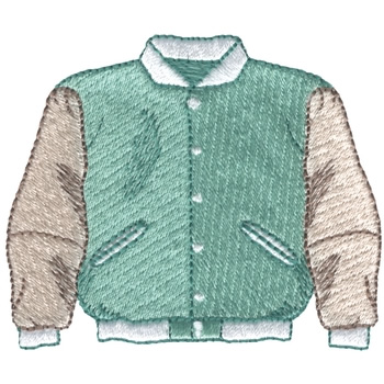 Dakota Collectibles Embroidery Design Letterman Jacket 2