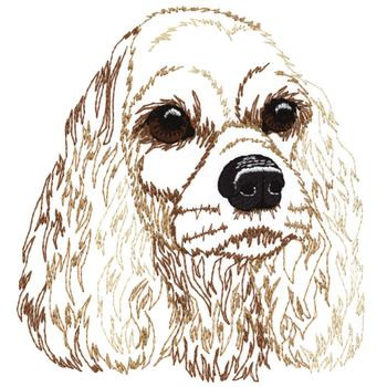 COCKER SPANIEL EMBROIDERY DESIGN « Sewing and Embroidery