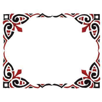 Hawaiian Tribal Border Designs Pin cool tribal borders 123freevectors ...