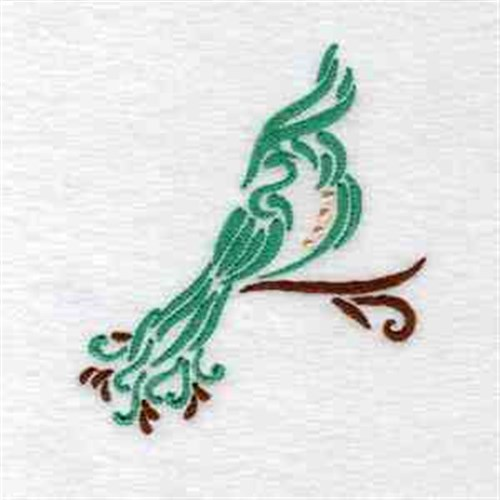 Daydream designs embroidery design art deco birds