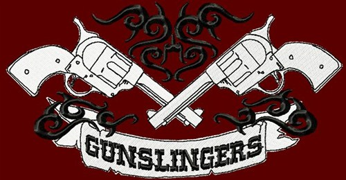 The Gunslinger Embroidery Designs