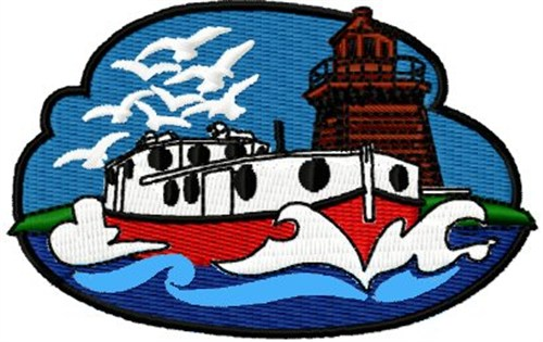 Free Lighthouse Embroidery Designs Article