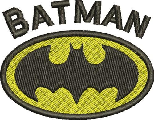 Batman Machine Embroidery Pes Patterns Patterns Kid