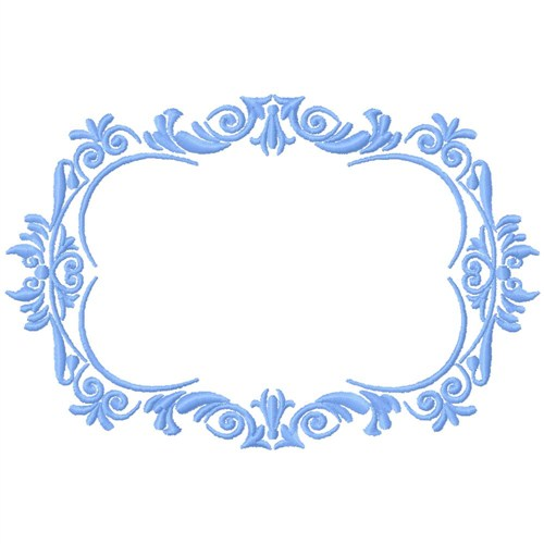 Gosia Embroidery Embroidery Design Fancy Frame 366