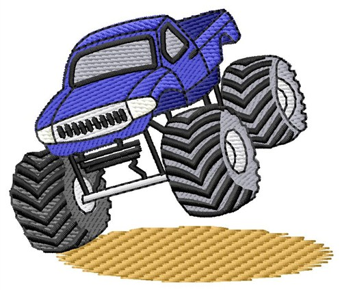 Grand Slam Designs Free Embroidery Design Monster Truck 2