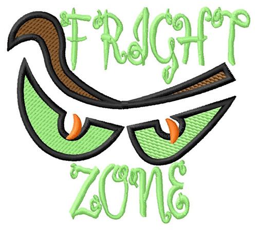 Grand slam designs embroidery design fright zone