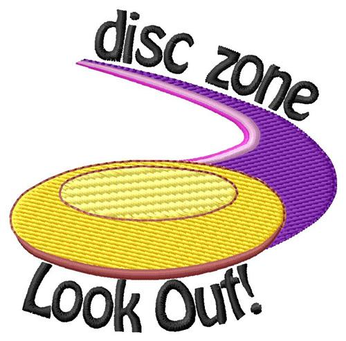Grand slam designs embroidery design disc zone