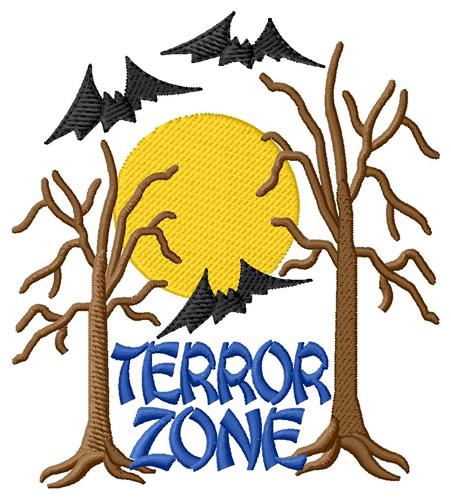 Grand slam designs embroidery design terror zone