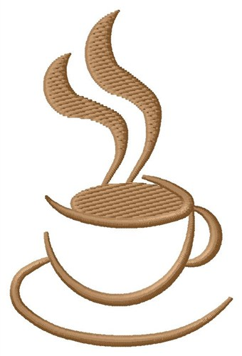 Free Machine Embroidery Coffee Cup Designs
