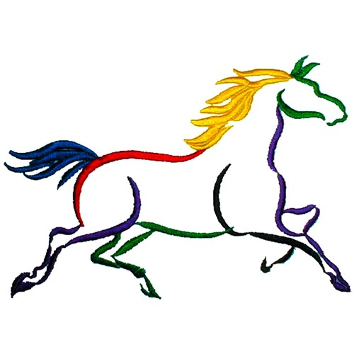 Hand Embroidery Designs Free Horse