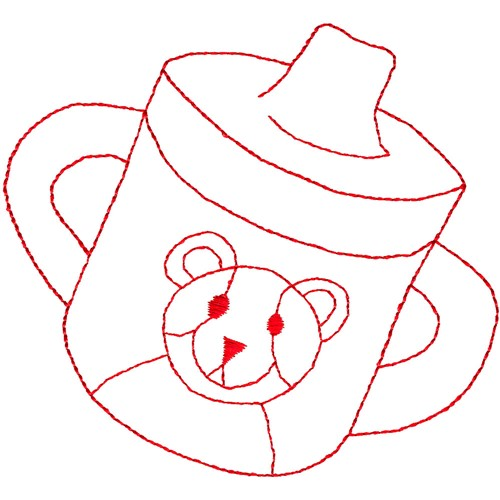 Sippy Cups Colouring Pages