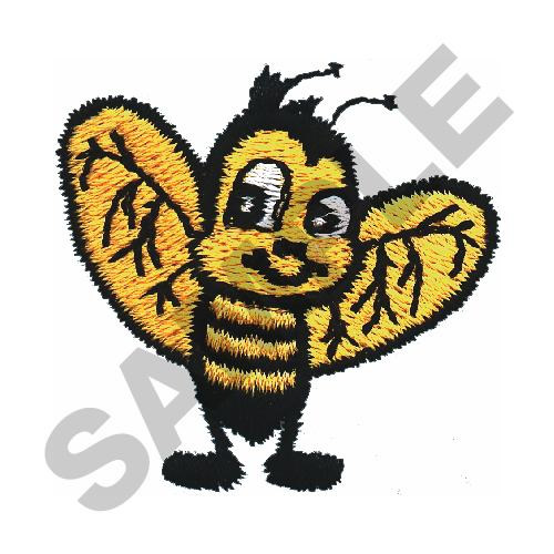 Great notions embroidery design honey bee inches h