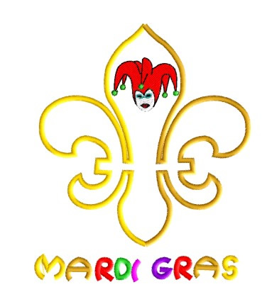 Free Mardi Gras Embroidery Designs - Free Embroidery Patterns
