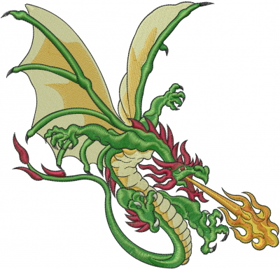 free machine embroidery designs dragons